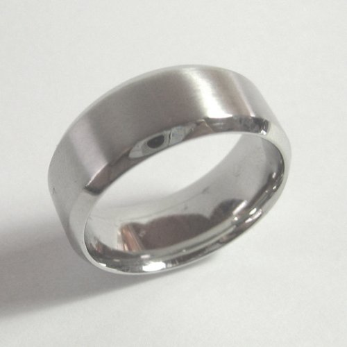 Platinum Broad Wedding Band
